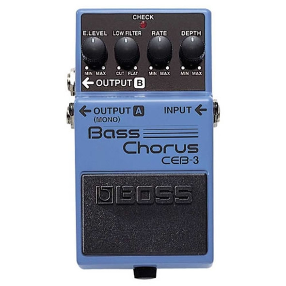 Boss CEB3 Bass Chorus Effects Pedal