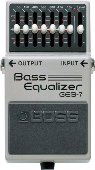 Boss GEB7 Bass Equalizer Effects Pedal