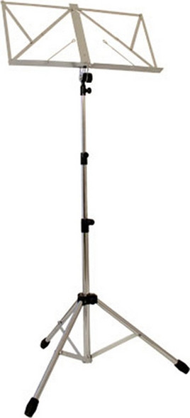 Music Stand Deluxe Chrome With Soft Case