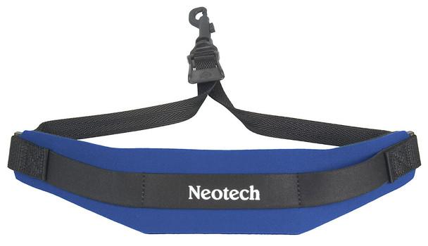 Neotech Soft Sax Strap Blue With Swivel Hook