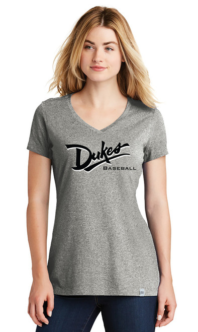 New Era Ladies V Neck Tee