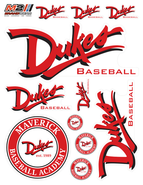 Dukes Sticker Sheet