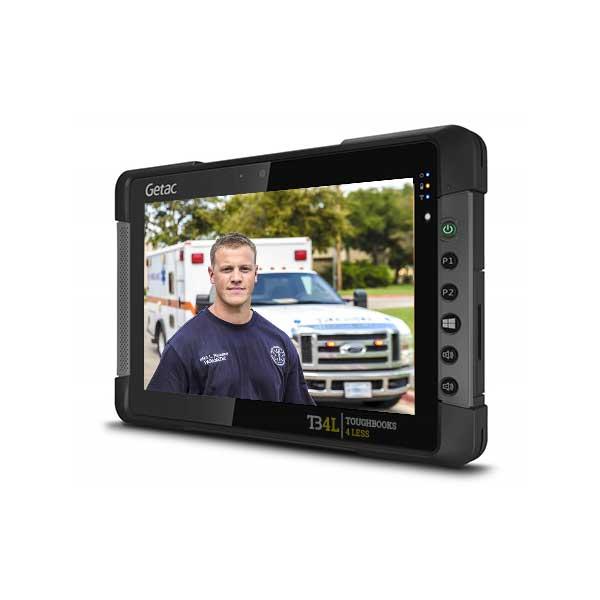 Getac T800 - x7 1.6Ghz– 8MP Rear Camera - 4G LTE