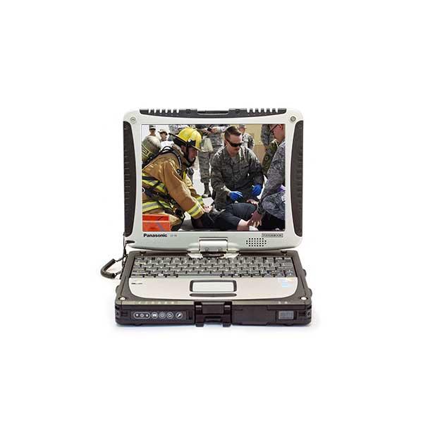 Panasonic Toughbook CF-19 MK6 - i5 2.6Ghz - Dual Pass