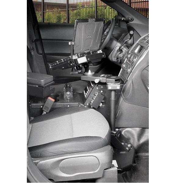 Gamber Johnson Pedestal System Kit - Ford Utility Police Interceptor (2011 - 2014)