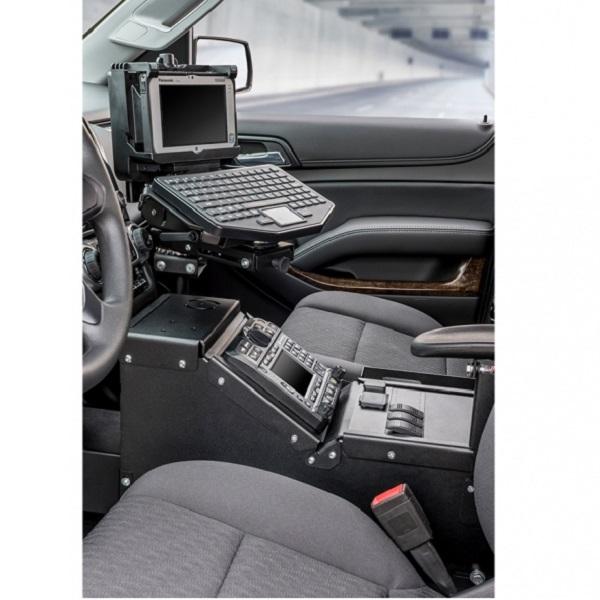 Gamber Johnson Pedestal System Kit - Chevrolet Silverado & GMC Sierra Truck  (2014-2015)