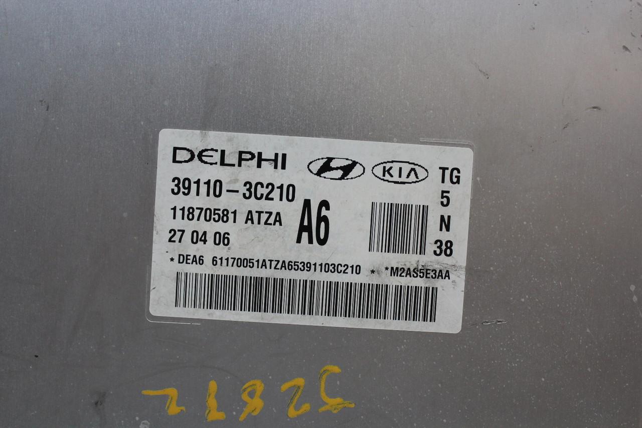 06-10 Hyundai Azera 39110-3C210 Computer Brain Engine Control ECU ECM EBX Module