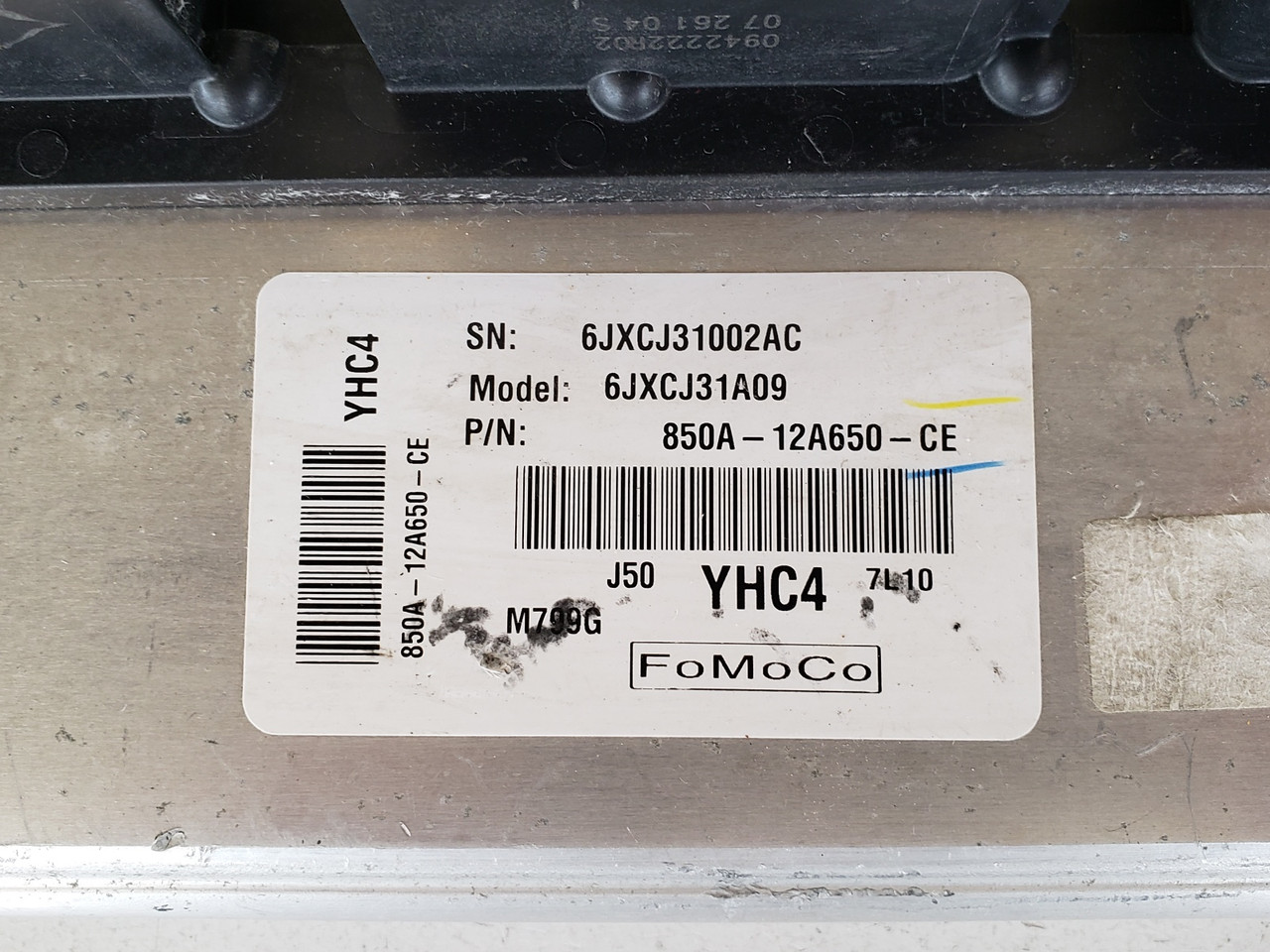 2008 CX-9 CX9 850A-12A650-CE Computer Brain Engine Control ECU ECM EBX Module