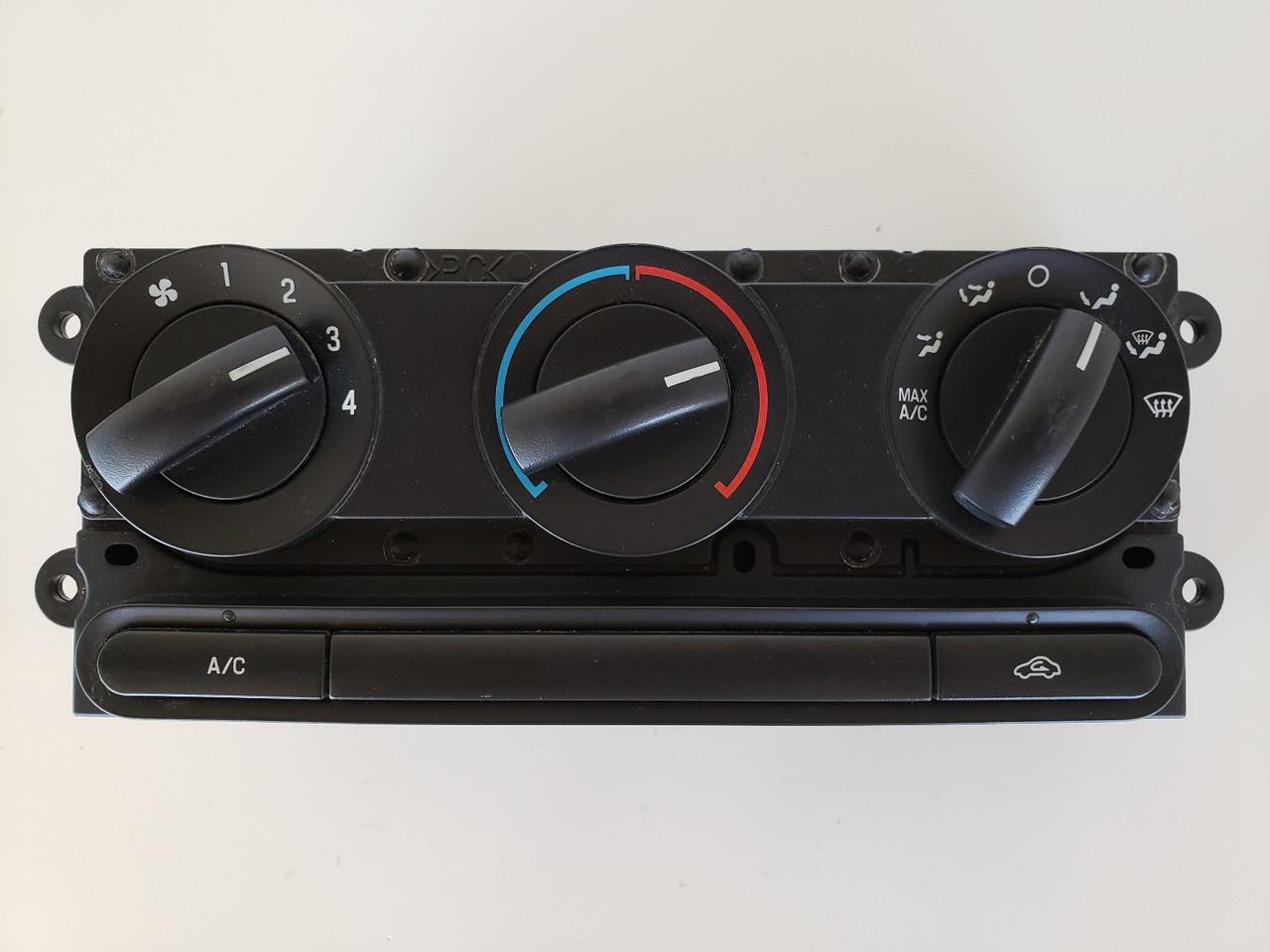 04-08 F-150 F150 4L34-19980-AG Climate Control Panel Temperature Unit A/C Heater