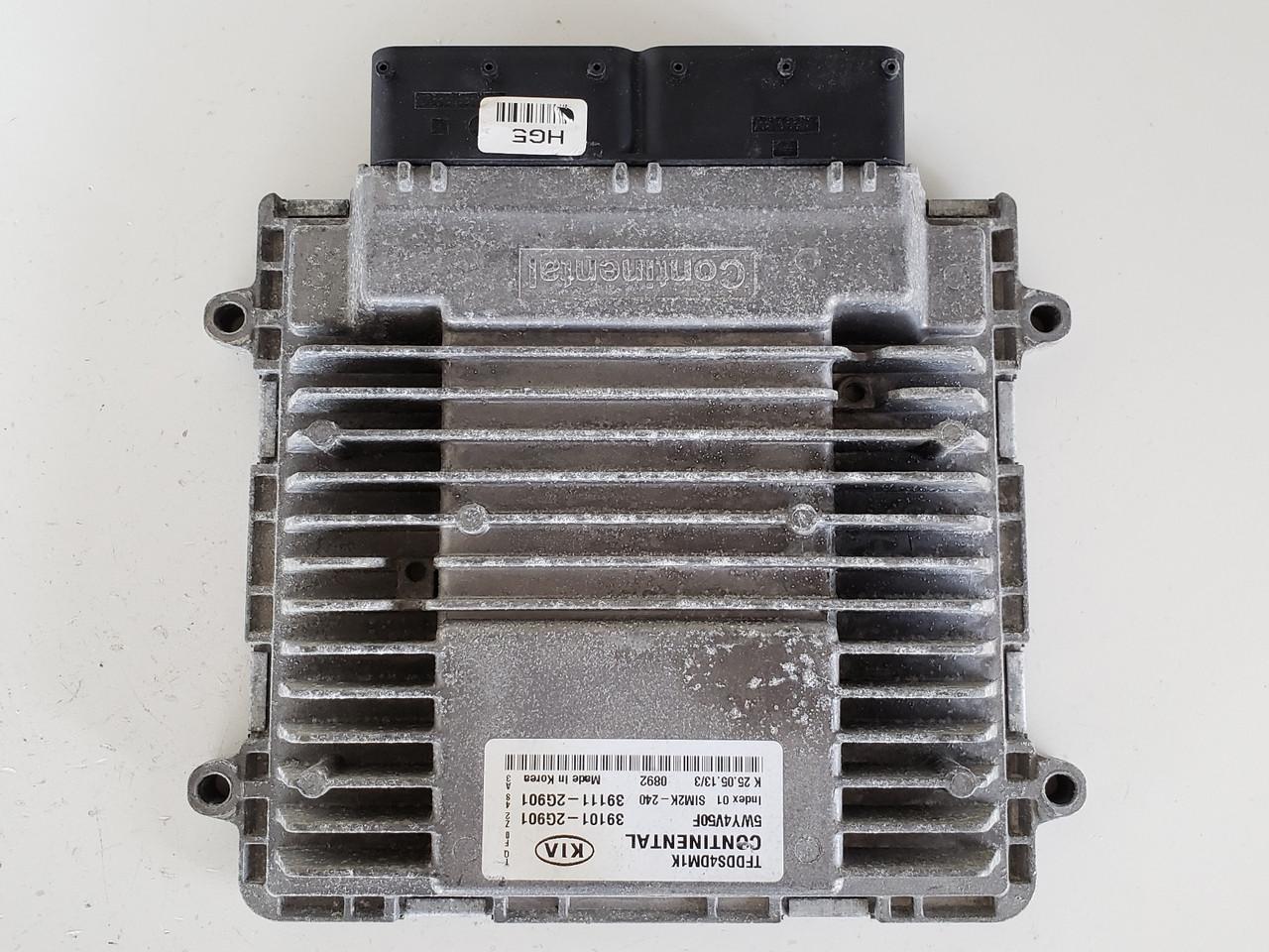 2013 Kia Optima 39111-2G901 Computer Brain Engine Control ECU ECM EBX Module