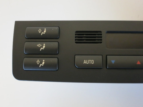 01 -06 Bmw 325i 330i M6 Climate Control Panel Temperature Unit A/C Heater