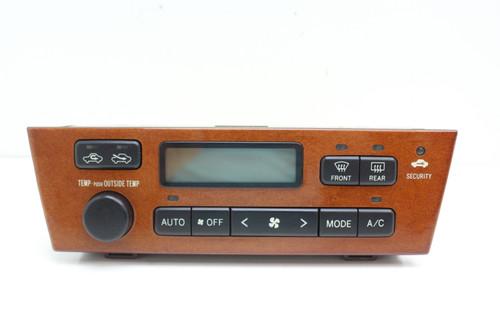 00 01 Lexus ES300 Climate Control Panel Temperature Unit A/C Heater