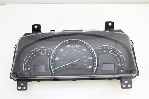 12 Toyota Camry 2.5L 83800-0X090 Speedometer Head Instrument Cluster Gauges 36K