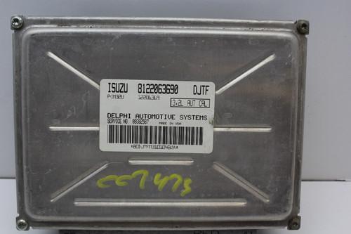 00 01 02 Isuzu Rodeo 09382587 Computer Brain Engine Control ECU ECM EBX Module