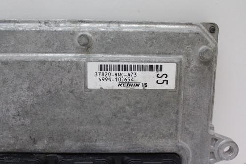 2010 10 Acura RDX 37820-RWC-A73 Computer Brain Engine Control ECU ECM EBX Module