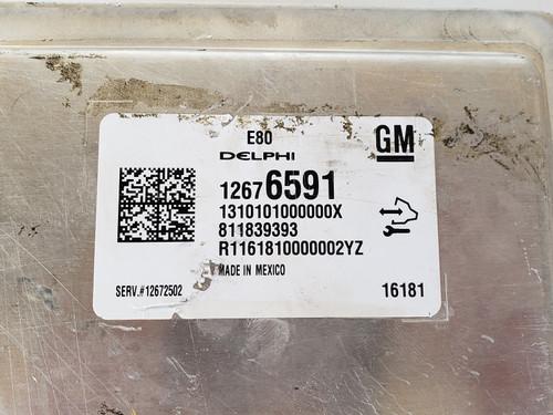 2016 Chevy Cruze 12672502 Computer Brain Engine Control ECU ECM EBX Module