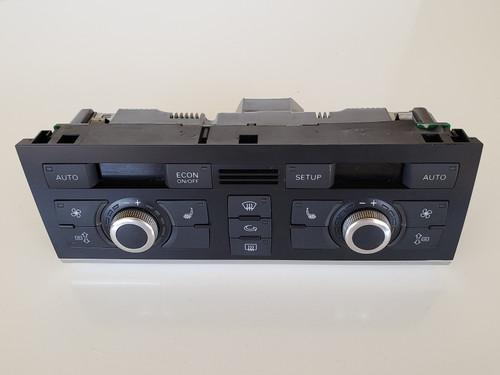 05-08 Audi A6 4F1 820 043 Climate Control Panel Temperature Unit A/C Heater