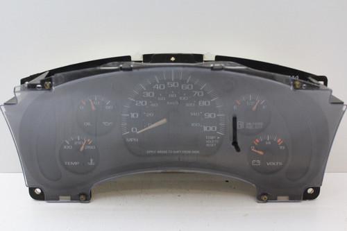 00-05 Chevrolet Astro 16255825 Speedometer Head Instrument Cluster Gauges 90K
