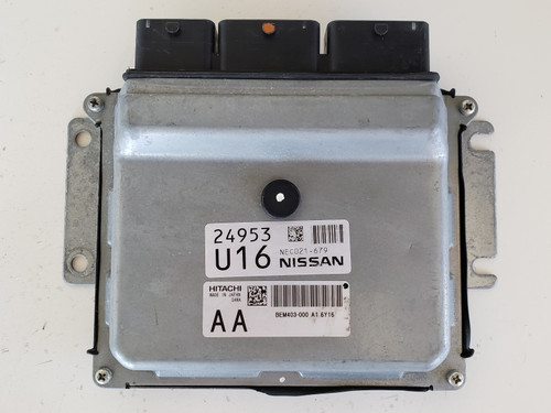 2015-2017 Rogue NEC021-679 Computer Brain Engine Control ECU ECM EBX Module