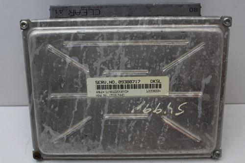 00 01 Chevrolet Camaro 09380717 Computer Brain Engine Control ECU ECM EBX Module