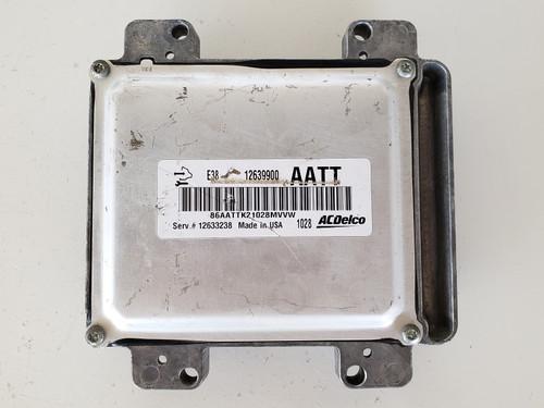 10-15 Express Van 3500 12633238 Computer Brain Engine Control ECU ECM EBX Module
