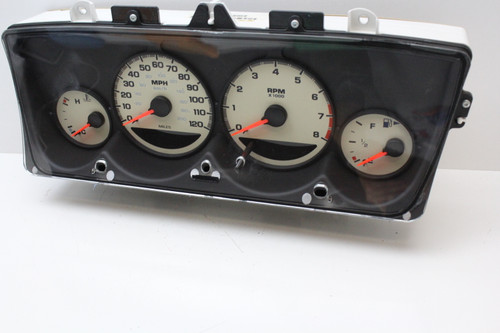 03-05 Dodge Neon 04671806AJ Speedometer Head Instrument Cluster Gauges 81K