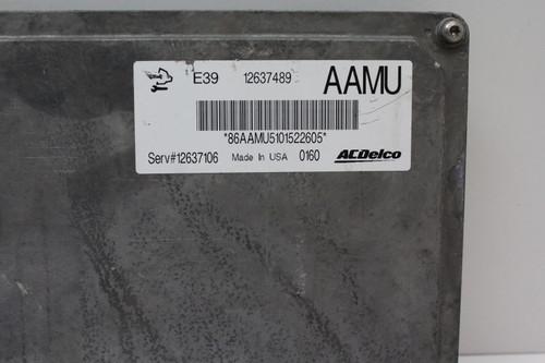 2011 11 Regal 12637106 Computer Brain Engine Control ECU ECM EBX Module