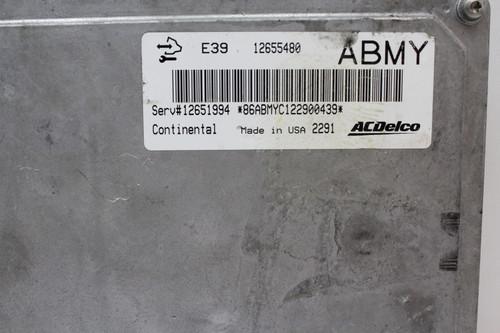 12 13 Verano 12651994 Computer Brain Engine Control ECU ECM EBX Module