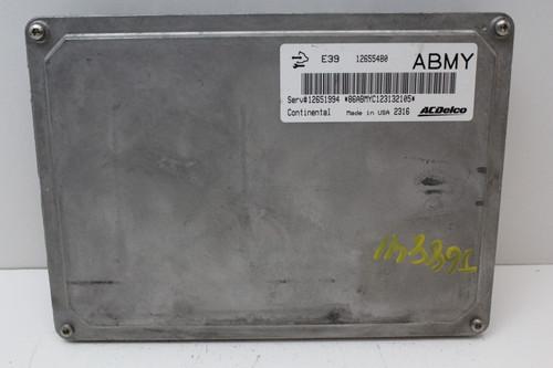 12 13 2012 2013 Verano 12651994 Computer Brain Engine Control ECU ECM EBX Module