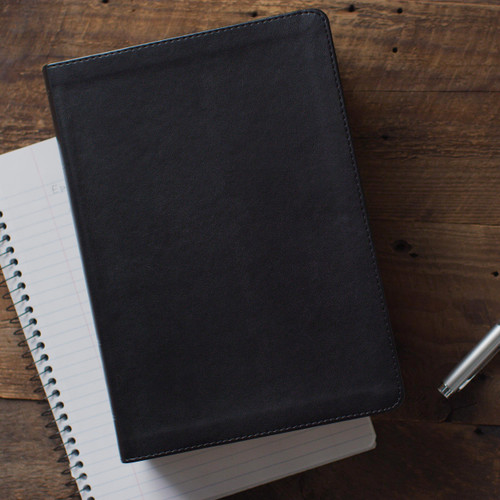 Leather Bound Large Print ESV Study Bible, TruTone, Black Over 1 Million Copies Sold Winner of the ECPA Book of the Year Award ESV Study Bible is designed to help you go deeper as you study the Word of God.