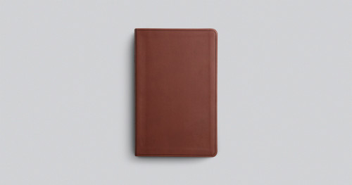TheESV Large Print Value Thinline Bible is less than an inch thick and includes 10-point Bible text, a quality TruTone cover, and a concordance.
