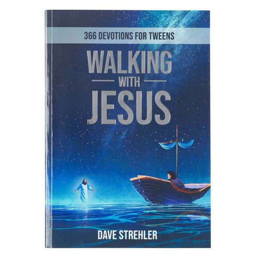 TheWalking with Jesus Devotional Bookis a devotional written to teach young people what it looks like to follow in the footsteps of Jesus. This beautiful book's images bring the stories of Jesus more vivid and will challenge your loved one to follow after Him.