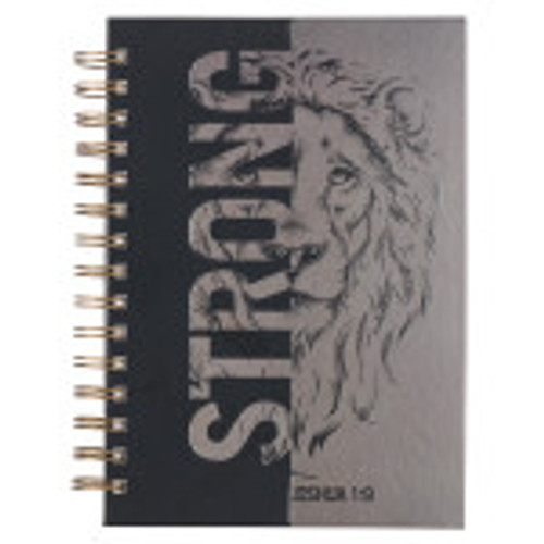 The compelling lion's face on the cover will help you to find strength and comfort in the promises God makes in the Bible, specifically that if you put your faith in him, he will never leave you.