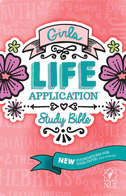 TheGirls Life Application Study Bibleis the only Bible for tween girls based on the #1–sellingLife Application Study Bible.  It includes over 800 Life Application notes plus other features and Foundations for Your Faith sections all intended to help girls grow in their Christian faith.