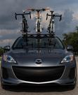 Mazda bike rack - The SeaSucker Bomber 3 bike rack