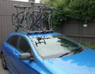 Mercedes A Class bike rack - The SeaSucker Bomber 3 bike rack