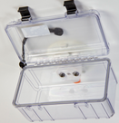 SeaSucker Large Dry Box Vertical Mount with lid open