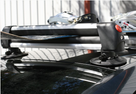 SeaSucker Ski Rack on car