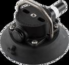 114mm SeaSucker Black Vacuum Mount with Stainless Steel D-Ring