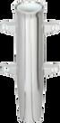 Lee's Tackle Aluminum Side Mount Rod Holder Tulip Style Silver (RA5000SL)