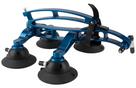 The SeaSucker Komodo with Blue Frame in the fold position - BK1910