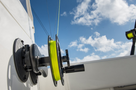 SeaSucker Removable Teaser Reel in boat