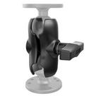 "RAM Short (89 mm) Double Socket Arm - 1.5"" Ball"