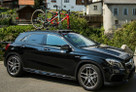 SeaSucker Mini Bomber fitted to Mercedes GLA45 AMG