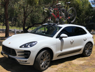 SeaSucker Mini Bomber fitted to Porsche Macan