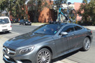 Mercedes S500 with SeaSucker Mini Bomber