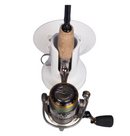 SeaSucker Pro Series - Single Rod Holder with fishing rod in holder top view