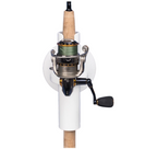 SeaSucker Pro Series - Single Rod Holder with fishing rod in holder front view