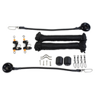 Lee's Tackle RK0322RK - Single Rigging kit for Outriggers up to 25 ft included in this kit
