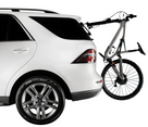 2021 Talon - Single Bike Rack 2-PACK Edition installed on the rear window of a Mercedes SUV